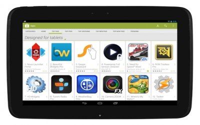 Google Play warms up to tablet-friendly apps