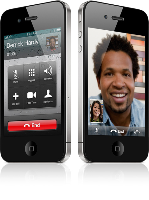 Apple - iPhone 4 - One-tap video calling with FaceTime on iPhone 4